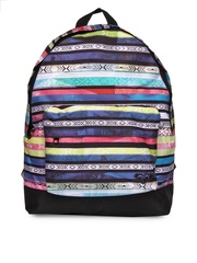 Roxy Girls Multicoloured Printed Backpack