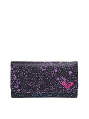 Roxy Women Black Printed Wallet