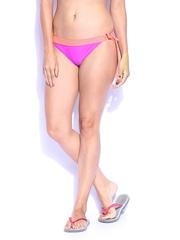Roxy Women Purple Bikini Bottoms