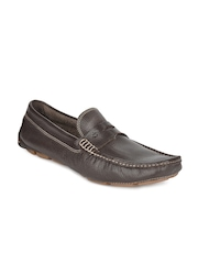 Ruosh Casual Men Brown Wrinkle Resistant Driving Shoes