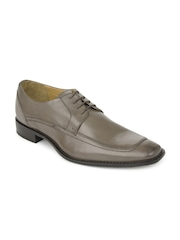 Ruosh Work Semi-Formal Men Tan Two Tone Finish Derby Shoes