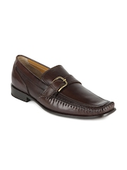 Ruosh Work Semi-Formal Men Brown Leather Shoes