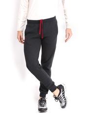 Russell Athletic Men Grey Melange Slim Fit Track Pants