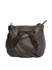 Baggit Brown Oversized Sling Bag