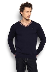 SPYKAR Men Navy Sweater