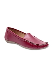 STEPpings Women Red Loafers