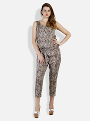 STREET 9 Women Brown Printed Jumpsuit