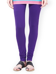 Sakhi Sang Women Purple Churidar Leggings