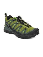 Salomon Men Green X Ultra Sports Shoes