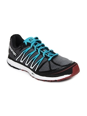 Salomon Men Grey & Black X-Tour Sports Shoes