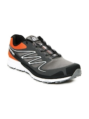 Salomon Men Grey & Orange Sense Mantra 2 Sports Shoes