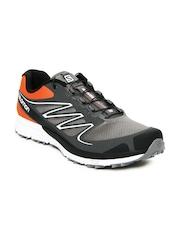 Salomon Men Grey & Orange Sense Mantra 2 Sports Shoes