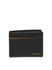 Samsonite Men Black Leather Wallet