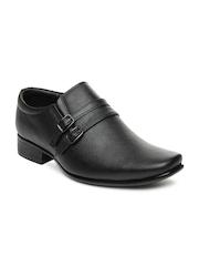 San Frissco Men Black Semiformal Shoes