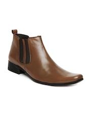San Frissco Men Tan Brown Casual Shoes