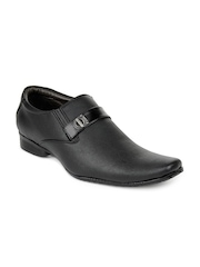 San Frissco Men Black Semi-Formal Shoes