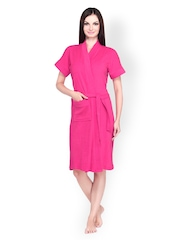 Sand Dune Women Pink Bathrobe