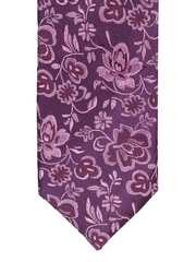 Satya Paul Purple Silk Tie
