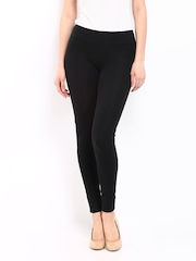 Sbuys Women Black Leggings