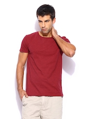 Scotch & Soda Men Red T-shirt