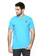 Scullers Sport Men Blue Polo T-shirt