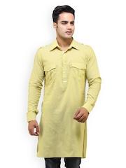 See Designs Men Yellow Kurta