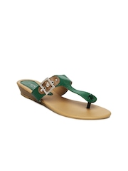 Senorita Women Green Sandals