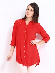 Sepia Women Red Tunic
