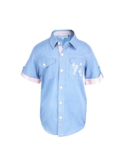 ShopperTree Boys Blue Shirt