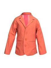 ShopperTree Unisex Orange Blazer