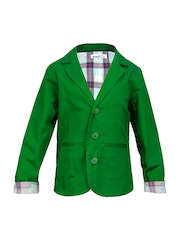 ShopperTree Unisex Green Blazer