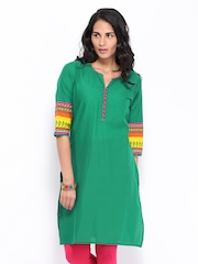 Shree Women Green Kurta