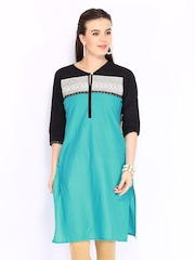 Shree Women Blue Kurta