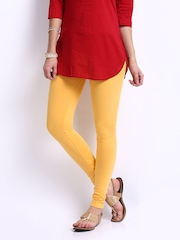 Shree Women Yellow Leggings