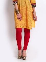 Shree Women Red Leggings