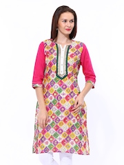 Shree Women Multicoloured Printed Kurta