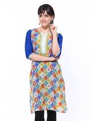 Shree Women Multicoloured Printed Kurta