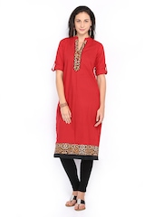 Shree Women Red Kurta
