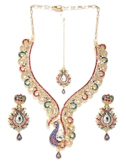 Sia Art Jewellery Gold-Toned Jewellery Set