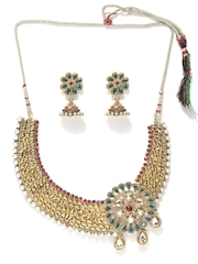 Sia Art Jewellery Gold-Toned Jewellery Set