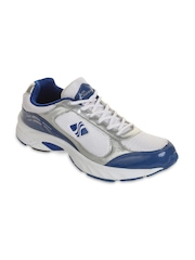 Men White & Blue Casual Shoes Sierra