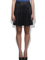Sisley Black A-Line Skirt