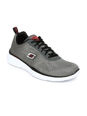Skechers Men Charcoal Grey Equalizer-Quick Reaction Training Shoes