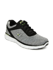 Skechers Men Grey Synergy Instant Reaction Training Shoes