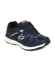 Skechers Men Navy Agility-Victory Won Sports Shoes