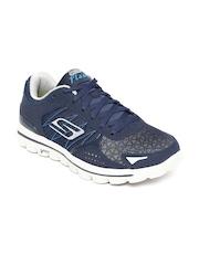 Skechers Men Navy Blue GO Walk 2-Flash Walking Shoes