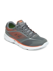 Skechers Men Grey Go Run Pace Ombre Sports Shoes