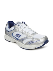 Skechers Men White Uninterrupted Sports Shoes
