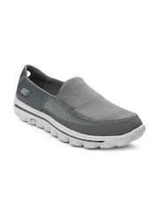 Skechers Men Grey Go Walk 2 Sports Shoes