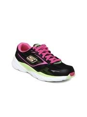 Skechers Women Black Go Run Ride 3 Sports Shoes